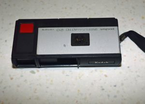 My first camera — a Kodak Pocket Instamatic that went with me everywhere.